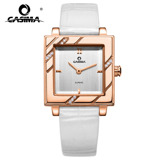 2018 Luxury Brand CASIMA Women's Watches Montre Femme Waterproof Ladies Quartz Wristwatch Relojes Mujer Crystal Watch Women 2611 luxury brand women diamond quartz watch ladies female dress wristwatch rotatable dial watche s montre femme relojes mujer