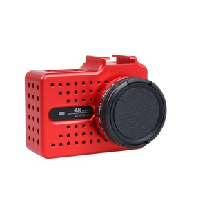 Image 2 - New for Xiaomi Yi 2 4k 4k+ Accessory Aluminium Alloy Metal Housing Frame Protective Case +UV filter for Xiao Yi 4k action camera