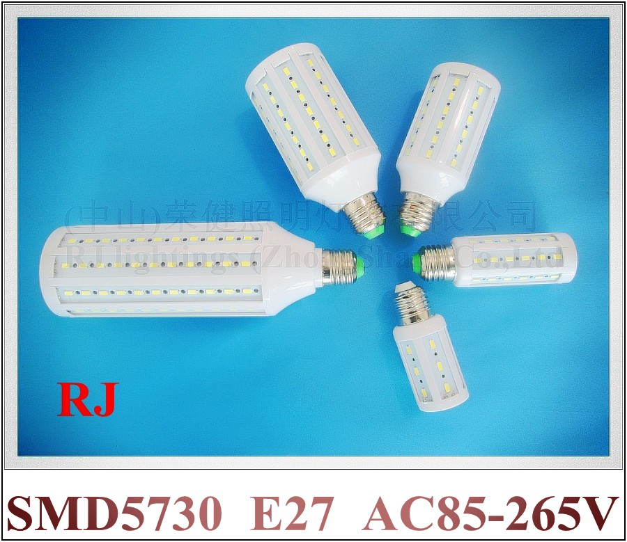classical style E27 LED corn bulb lamp light 5W --- 30W SMD5730 E27 CE ROHS constant current driver inside AC 85V-265V input