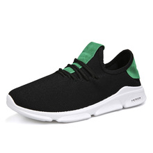 New Flying Line Technology Mesh Shoes Mens Casual Sports Light Increase Sneakers Mocassin Homme Calzado Hombre Chaussure