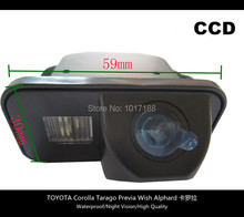 HD!! Car Rear View Parking CCD Camera For TOYOTA Corolla Tarago Previa Wish Alphard