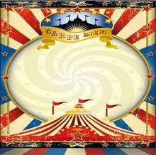 Carnaval Circo Estrelas Tenda Bandeiras Banner Vinil cenários de pano de Alta qualidade Computer print fundo do estúdio da foto da parede