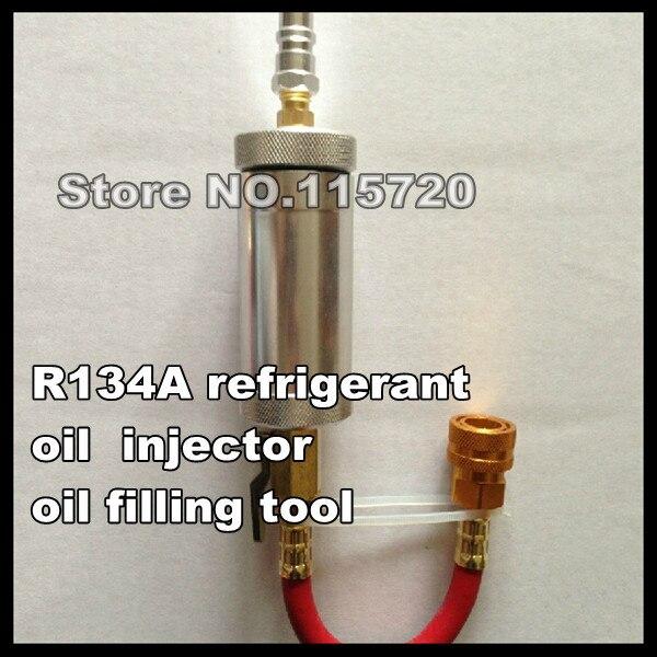 Авто запчасти для автомобильных кондиционеров R134A охлаждающее масло инструмент для наполнения, компрессорное масло зарядное устройство, масляный инжектор