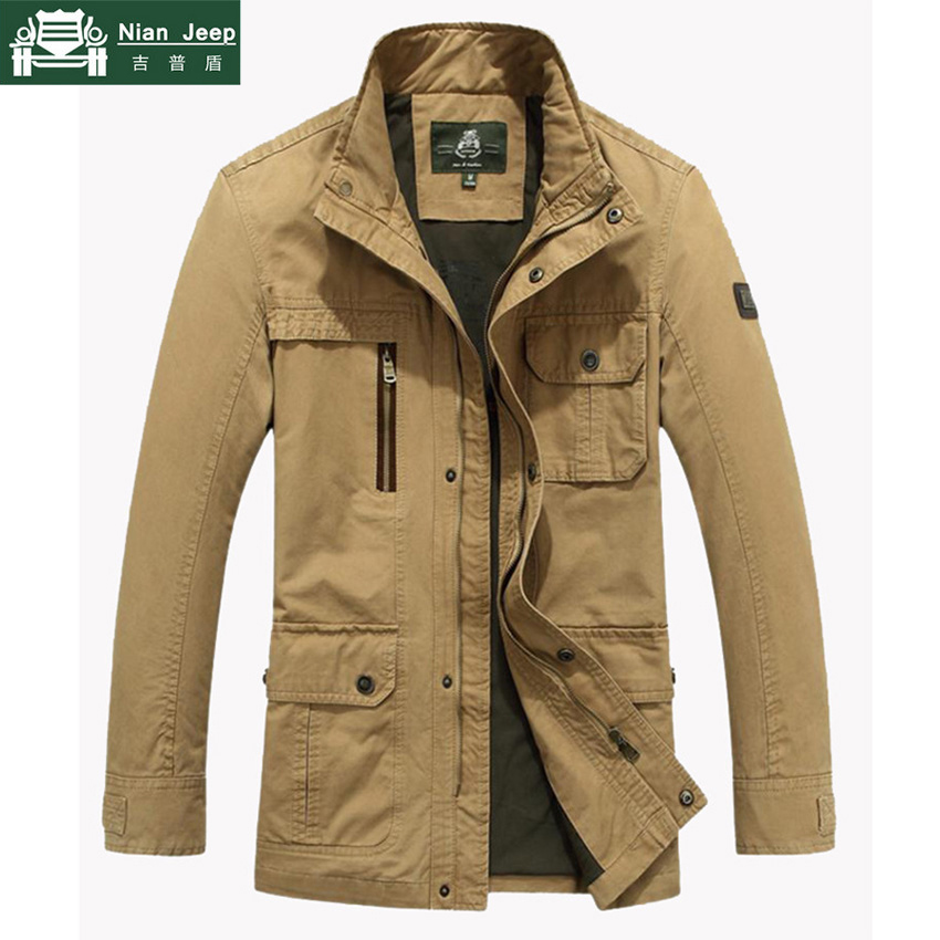 Men Outwear Military-Jacket Coats Jaqueta Windbreaker Army Plus-Size Cotton 5XL And Masculina