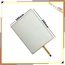 Skylarpu 12,1 дюймов 4:3 4 провода резистивный сенсорный экран панель 4 pin dupont 260 мм * 200 мм сенсорный экран USB контроллер комплект