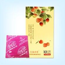 100Pcs/Lot Products Natural Latex Condoms For Men Super Thin Fruit Flavor Large Oil Quantity Sex Adult Toys Condom