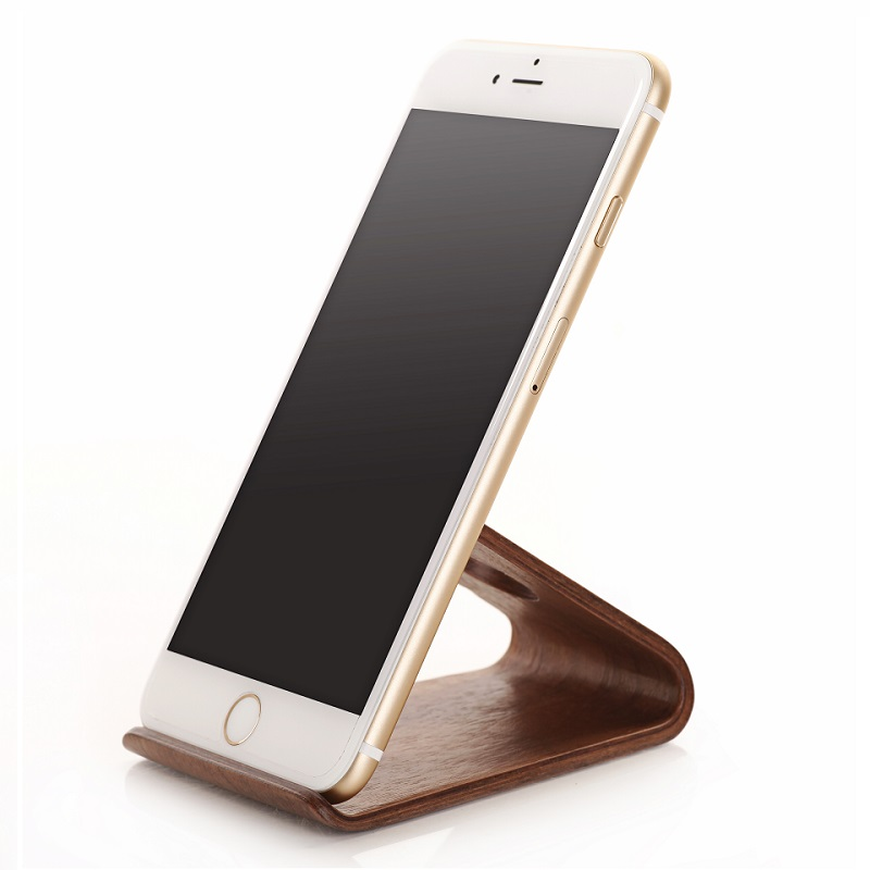 iphone desk holder solque wood mobile phone holder for iphone 8 7 7s plus 6 7817