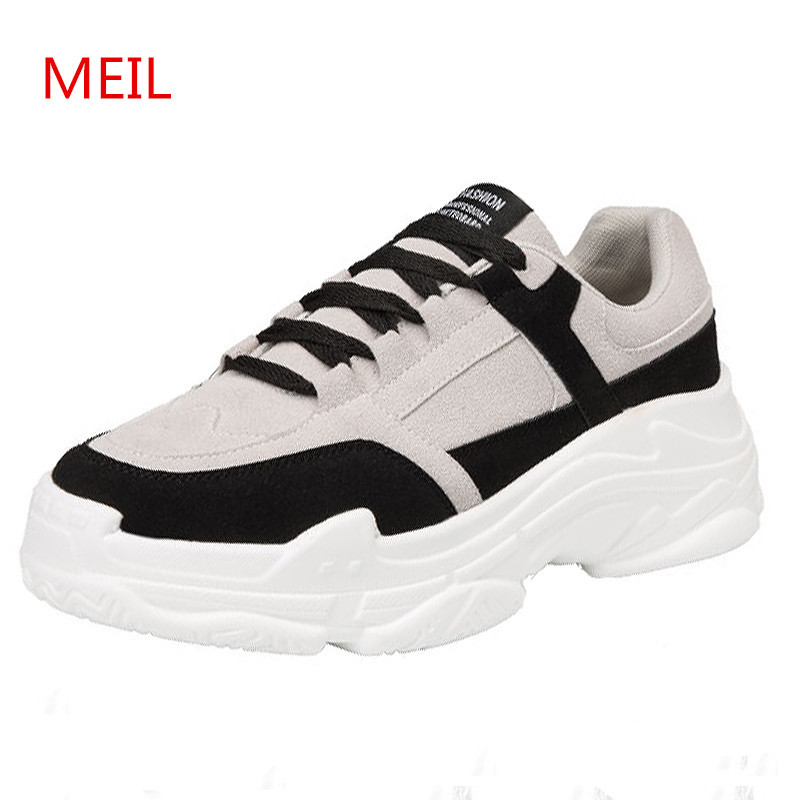 MEIL Designer Sneakers Casual Leather Shoes Men Soft Comfortable Mens Shoes Casual Driving Platform Shoes Loafers Zapatos Hombre new mens shoes casual black sneakers leather shoes men loafers white platform driving shoes for men trainers chaussures hommes