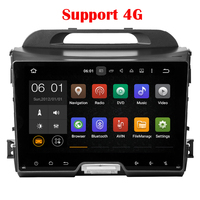 1024 600 Quad Core KIA Sportage R 2010 2011 2012 2013 2014 In Dash Pure Android