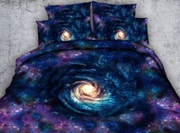 Galaxy Outspace 3D Print Bedding Sets Comforters coverlets Quilt/Duvet Covers Single Twin Full Queen Super King Size Bed Purple