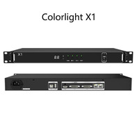 Colorlight X1 cheapest practical two in one led screen video processor switcher integrated 1 sending card S2
