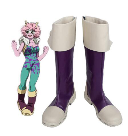 Boku no Hero Academia My Hero Academia Mina Ashido Cosplay Boots Halloween Party Custom Made for Adult Women Shoes Accessories