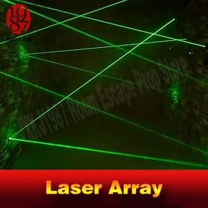 Image 4 - Laser Array Voor Escape Room Game Avonturier Prop Laser Doolhof Voor Geheime Kamer Game Intresting En Riskeren Groene Laser game