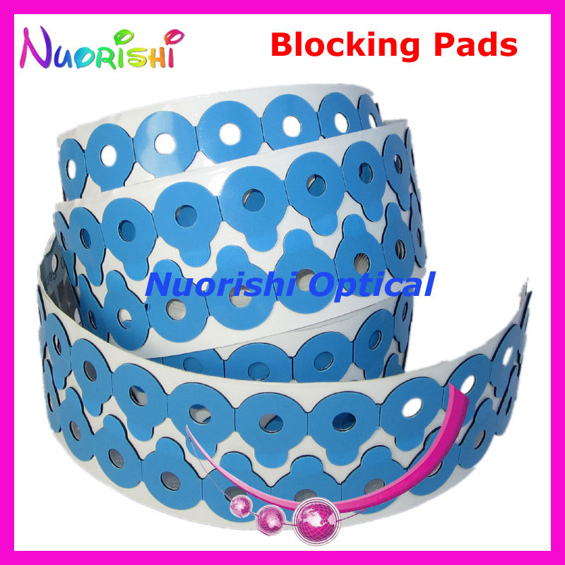 Popular Lens Adhesive Tape Edging Polishing Blocking Pads Sticker free shipping