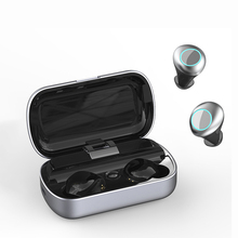 T7 B earphone TWS Earbuds Wireless Bluetooth Earphones Stereo Headset With charging box Mic пуля