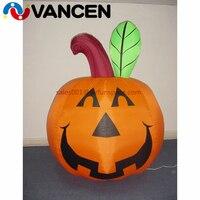Outdoor Decoration Inflatable Halloween Decoration Inflatable Pumpkin with Led Light Yard Decor Seasonal