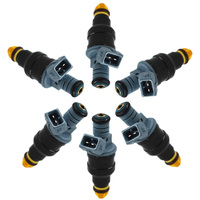 For Bosch 6X Fuel Injectors for 87 93 BMW 325I 325IS 325IX 1.8L 2.5L 5.6