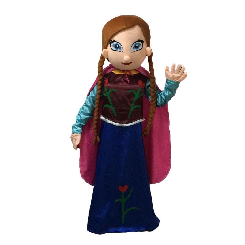 NEW Elsa and anna mascot costume Cosplay mascot costume Free shipping santa claus mascot costume christmas cosplay mascot costume free shipping