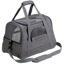 Переноска для кошек рюкзак для домашних животных сумка-мессенджер исходящие дорожные пакеты воздухопроницаемая переноска для питомцев сумки для маленьких собак