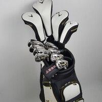 Golf club calla warbird 5 set completo di tee conducente + fairway legno 2 + Hybrid + ferro 8 + putter principiante set di polacchi no borsa