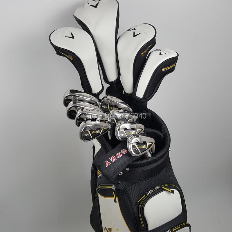Golf clubs calla warbird 5  full set of tee driver + fairway wood 2 + Hybrid + irons 8+putter beginner sets of poles no bag куплю golf 2 1986 г в дизель
