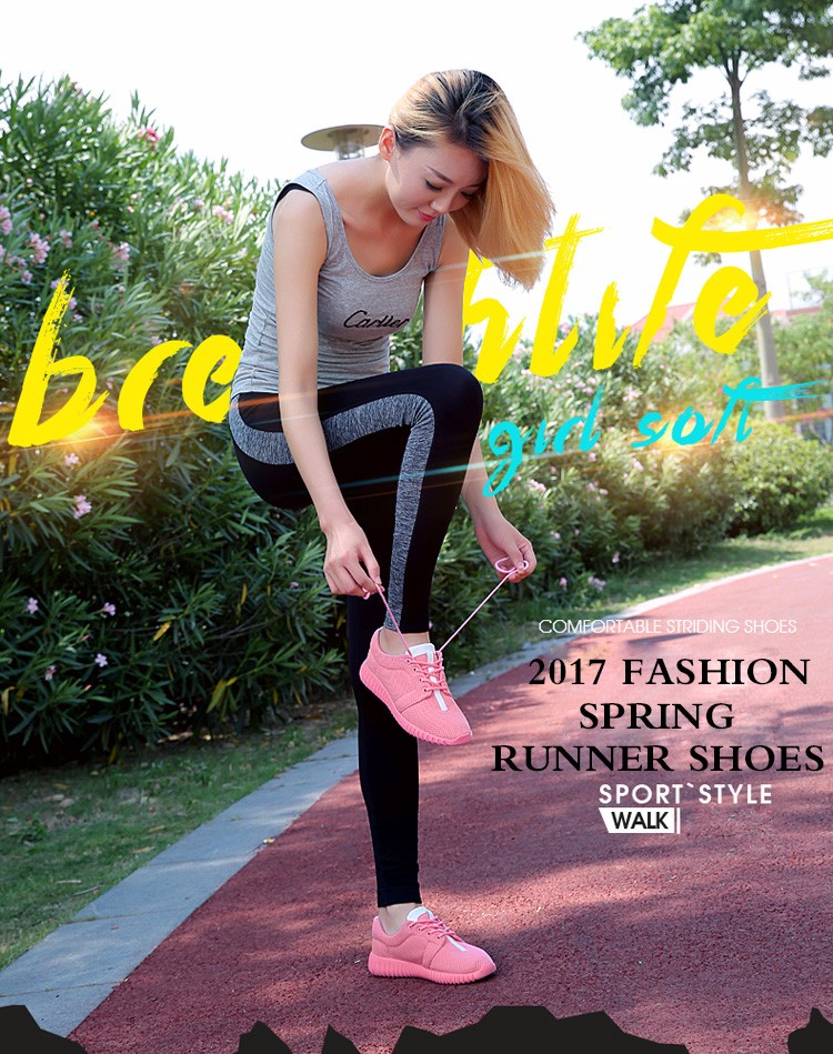Super Soft Women Trainers Breathable Runner Shoes 2017 Spring Sport Women Casual Shoes Zapatillas Deportivas Fashion Shoes ZD11 (1)