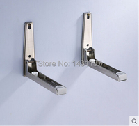 Free Shipping 304 Stainless Steel Material Wall Mount Microwave Oven Holder