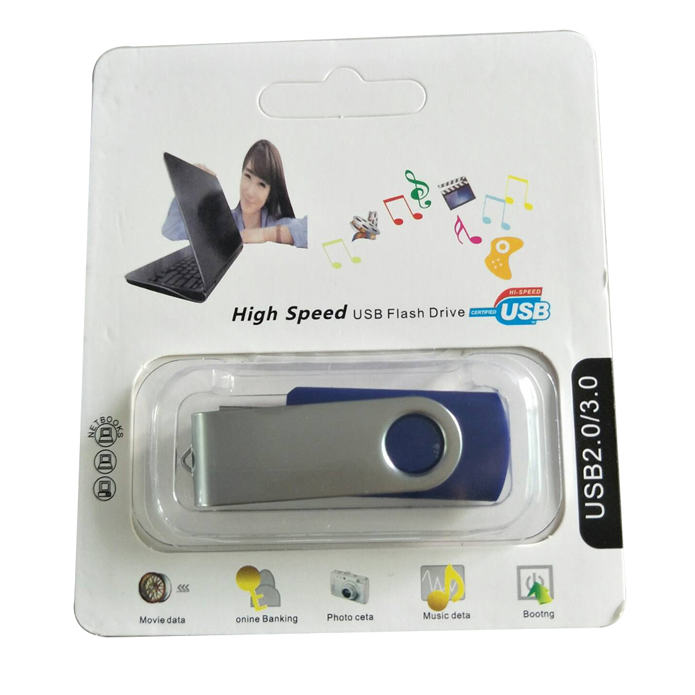 USB Flash Drive 64GB 32GB USB 2.0 Memory Storage U Disk Candy Color(Black) memory card