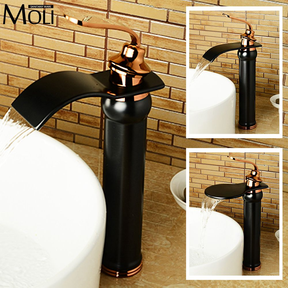 ФОТО New arrival black bathroom sink faucet soild brass oil-rubbed bronze washbasin tap mixer torneira para banheiro