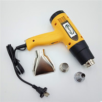 220V 1600W Industrial Electric Heat Gun Temperature Adjustable Handheld Hot air Gun for Paint Stripping Shrink Wrapping