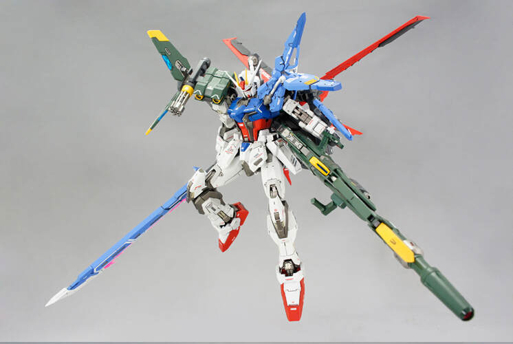 DRAGON MOMOKO Gundam assembly model MG 1/100 FX-550+AQM/E-X01 Skygrasper+Aile Striker Mobile Suit kids toys