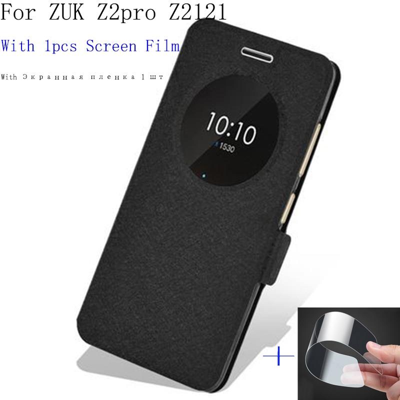2 шт. Smart view Окно для lenovo <font><b>ZUK</b></font> Z2pro Z2121 чехол открытое окно аккумулятора телефона ZUKZ2pro <font><b>ZUK</b></font> <font><b>Z2</b></font> pro Обратно чехол кобура