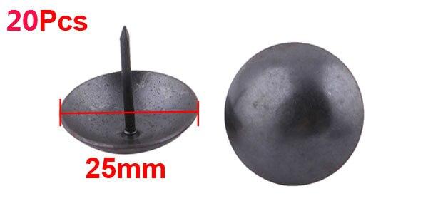 Black thumb tack