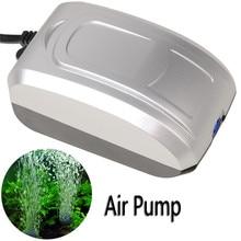 2.8W 3.3L/Min Ultra Silent Aquarium Fish Tank Oxygen Bubble Air Pump Water Pump for aquarium air compressor EU US UK plug