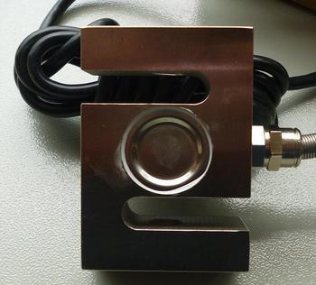 Sensor de carga quadrado s tipo sensor de peso, sensor de tensão e sensor de pressão 100 kg 300 kg 500 kg 750 kg 1 t 2 t + instrumento de exibição