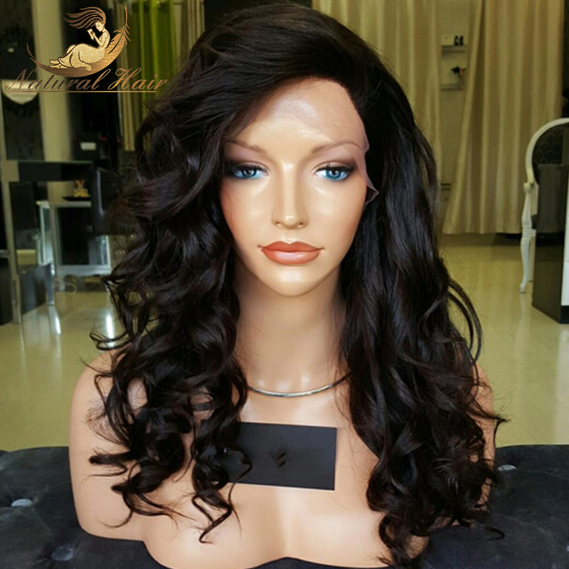 Full Lace Human Hair Wigs Loose Wave Cheap Human Lace Wigs Brazilian Full Lace Virgin Human