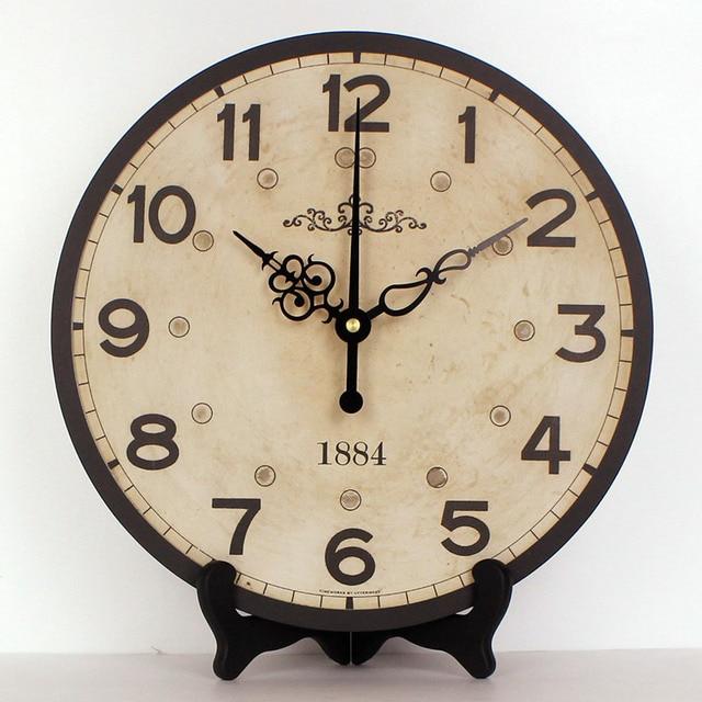 5920ac940c2 Atacado europa estilo de decoração mais muito relógio de mesa impermeável relógio  relógio de parede de