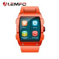 LEMFO V18 GPS Smartwatch Hỗ Trợ quản lý Tập Tin Ngủ monitor Ít Vận Động nhắc nhở Pedometer Đồng Hồ Thông Minh cho IOS và Android