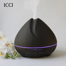 icci Humidifier  Essential oil diffuser  Aroma diffuser  Diffuseur huile essentiel  Oil diffuser  400ml with led lamp