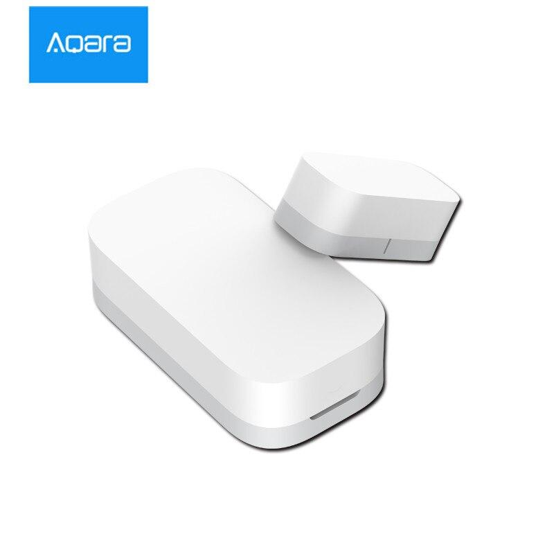 [Versión actualizada] Xiaomi AQara Smart Window Door Sensor ZigBee conexión inalámbrica trabajo multiusos con Android IOS APP