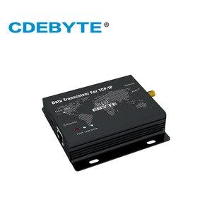 Image 2 - E90 DTU (400SL30 ETH) RJ45 Ethernet חדש לורה SX1268 30dBm 1W 433MHz TCP UDP יציאה טורית אלחוטי משדר מודם