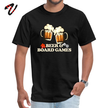 Beer and Board Games Round Neck T-Shirt Fall Tops Shirts Star Wars Sleeve Slim Fit Slash Summer T Shirt Hip hop Men 2017 latest men t shirt fashion i love beer meeple style t shirt tabletop board game rpg