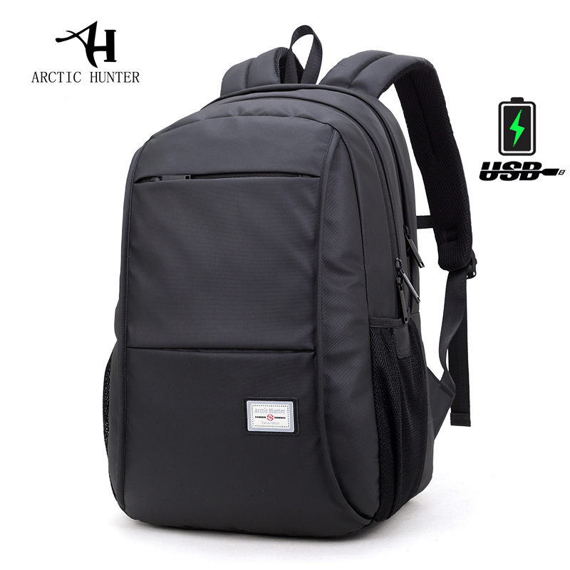 ARCTIC HUNTER Brand Casual Waterproof Men Women Laptop Backpack 15.6 inch Notebook Computer Bag School Backpacks for Boys Girls kingsons brand waterproof men women laptop backpack 15 6 inch notebook computer bag korean style school backpacks for boys girl