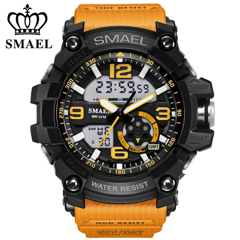 S SHOCK 2017 Luxury Brand Men Sports Watches Military Army Digital LED Quartz Watch Wristwatch Relogio Reloj Men Clock Relojes weide new men quartz casual watch army military sports watch waterproof back light men watches alarm clock multiple time zone