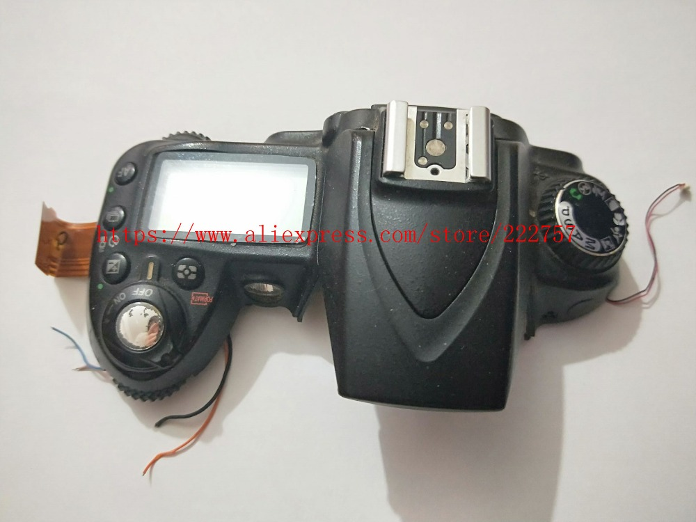 Original For Nikon D90 Top Cover Accessories Camera Replacement Unit Repair PartsOriginal For Nikon D90 Top Cover Accessories Camera Replacement Unit Repair Parts