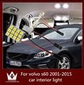 Guang Dian car led light interior light dome vanity light glove step trunk cargo lamp kit T10 festoon for vol-vo s60 2001-2015