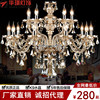 YL Large Crystal Chandelier 18 Arms Luxury Crystal Light Fashion Chandelier Crystal Light Modern Large Chandeliers