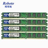 DDR2 8 GB (4x2 GB) 667 mhz/800 mhz RAM PC DIMM Mémoire RAM 200pin Compatible avec Intel et AMD