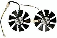 Computer VGA GPU Cooling For ASUS ROG STRIX RX470 Dual RX480 ROG Strix RX470 O4G GAMING