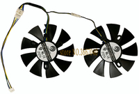 PC VGA GPU cooling fan for ASUS ROG STRIX RX470 dual RX480 ROG Strix RX470 O4G for graphics card cooler fan
